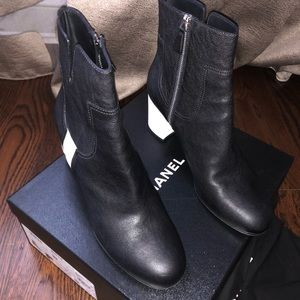 Chanel Short Boots Size 42